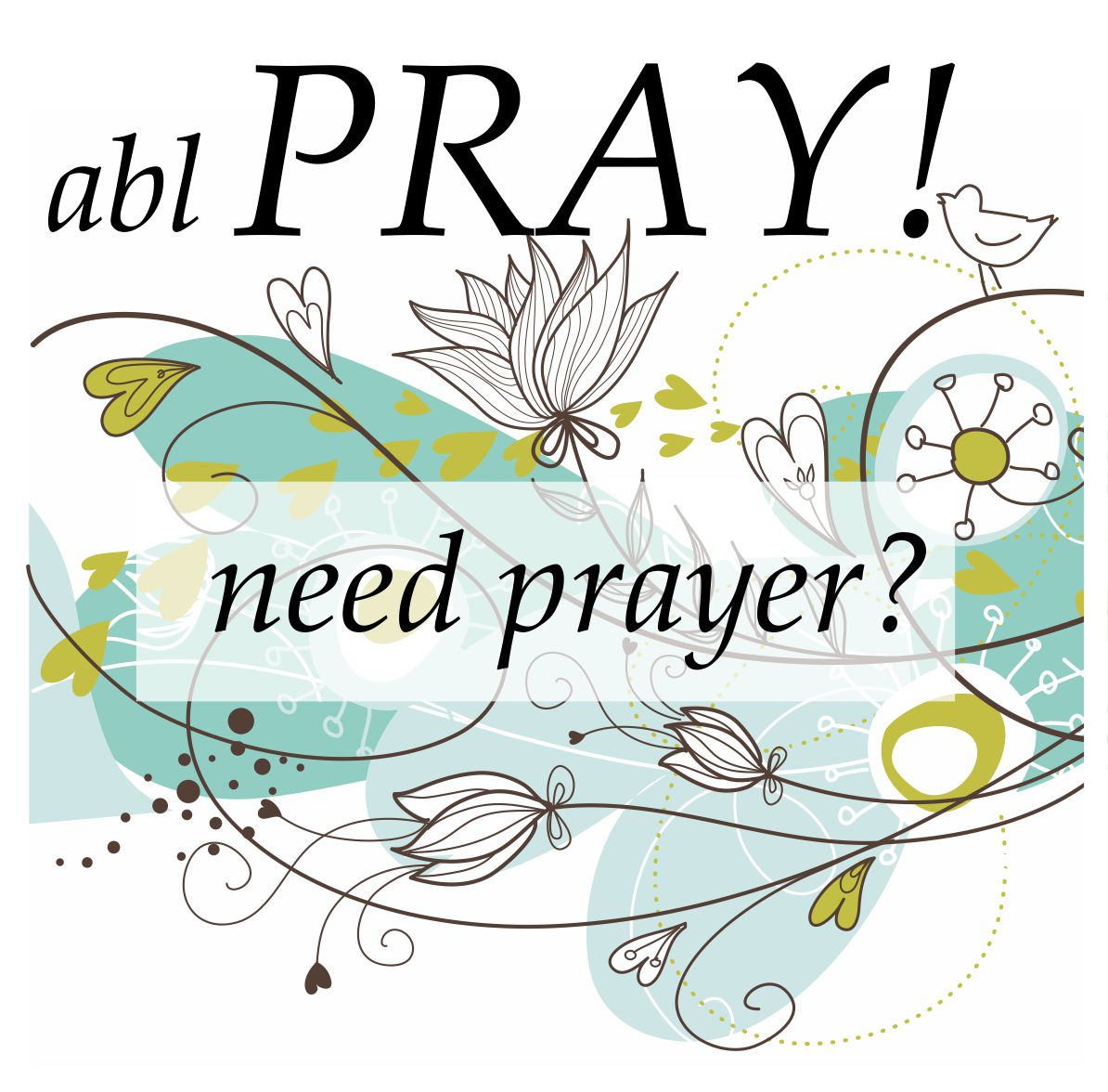 contact us fro personal prayer