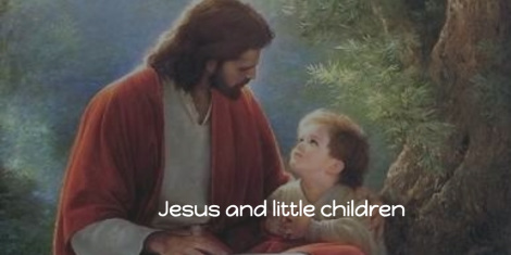 Jesus and little children